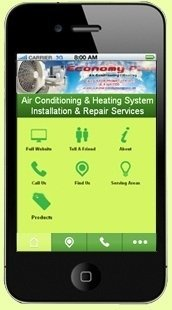 Economy Plus Air Conditioning and Heating Mobile Site